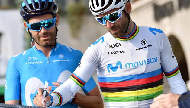 Pinot gana el Giro de Lombardía, sin opciones para Valverde
