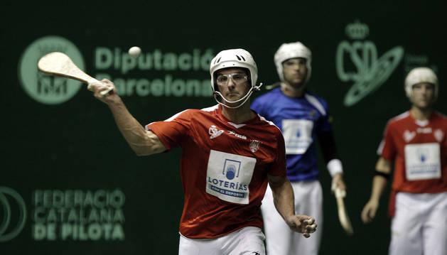 El Mundial comenzó ayer con los dos primeros éxitos de la selección española, entre ellos la de los palistas Erik Zubiri (en imagen).
