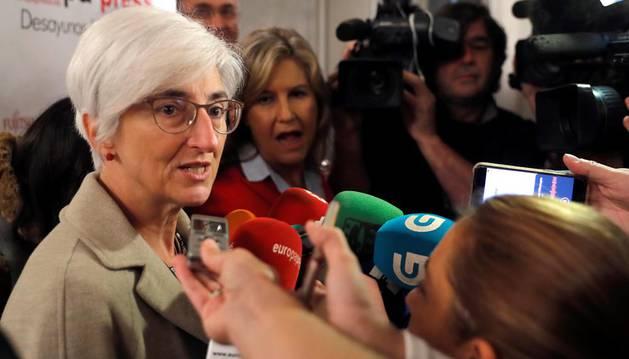 La fiscal general pide que se les deje trabajar con tranquilidad en Cataluña