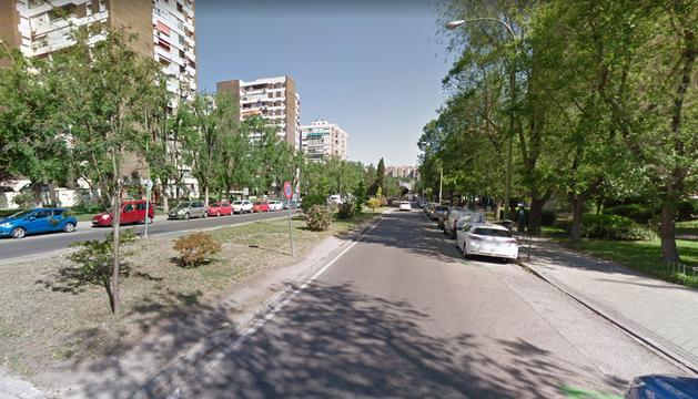 Una de las calles del madrileño barrio del Pilar