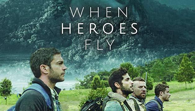 Cartel de la serie israelí 'When heroes fly'