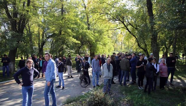 Ataque contra un instituto de Crimea