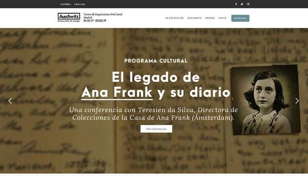 La exposición de Auschwitz suma tres objetos de Ana Frank