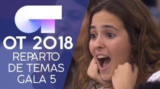 Reparto de temas de la gala 5 de 'OT 2018': Natalia Lacunza cantará con Julia 'Pienso en tu mirá', de Rosalía
