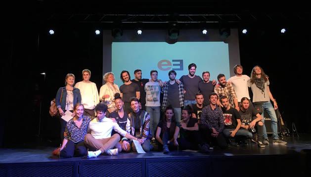 Mirari Echávarri, Maddi Barber, Jon Mikeo, Nymphs y Cobardes, premiados