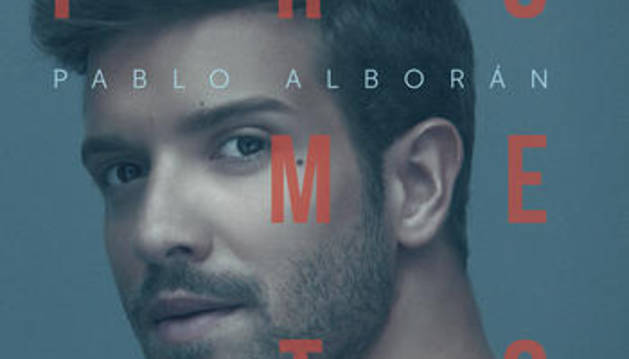 Portada de 'Prometo', el último disco de Pablo Alborán