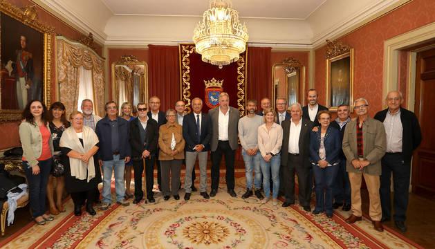 La Federación de Casas Regionales de Navarra, homenajeada por el Ayuntamiento de Pamplona.