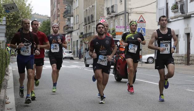 Media maratón Zubiri-Pamplona