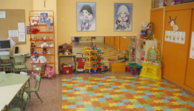 Un aula de Educacion Infantil.