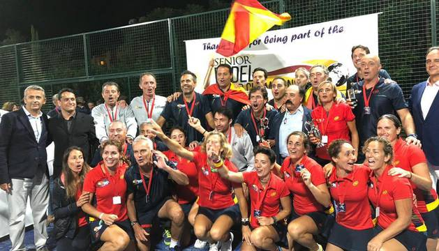 Selección española de veteranos.