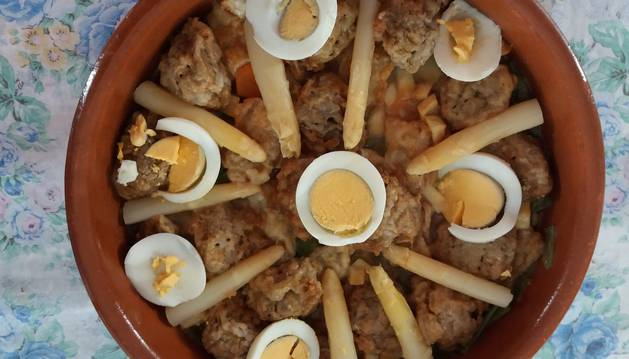 Menestra de verduras, de M. Carmen Andueza García de Eulate