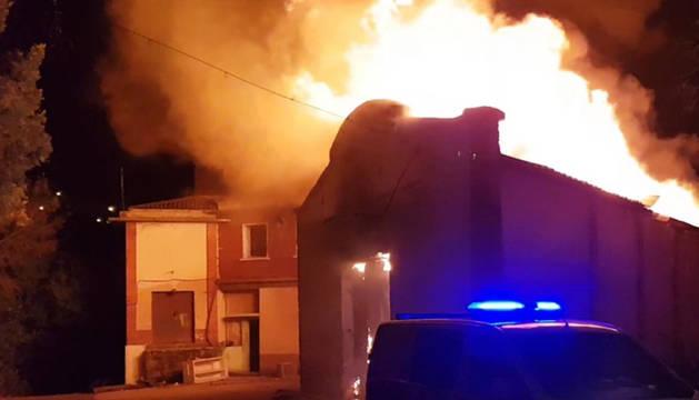El humo ha afectado a varias zonas cercanas.