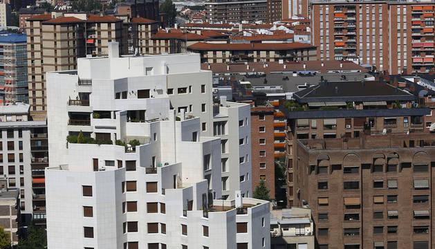 Vista de parte del barrio de San Juan desde Antoniutti.