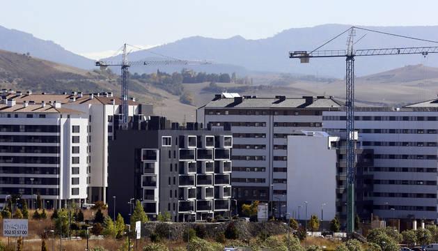Lezkairu recibió a sus primeros vecinos en diciembre de 2012 y en estos momentos está construido al 60 por ciento.