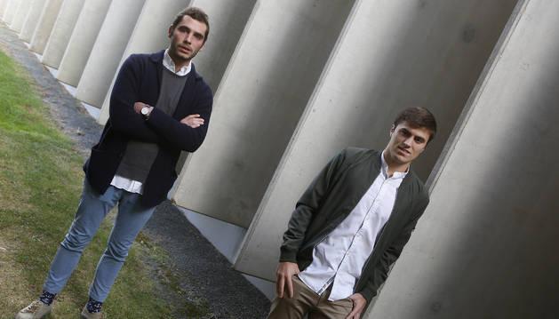 Yago Vaillo y Jorge De Ulibarri compatibilizan su tiempo entre sacar adelante su carrera de Arquitectura y potenciar su faceta emprendedora.