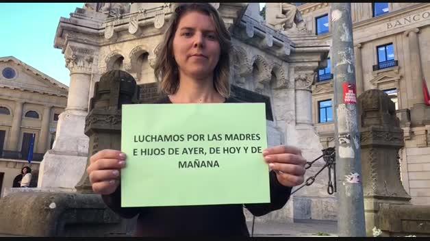 Las madres navarras reclaman la devolución del IRPF