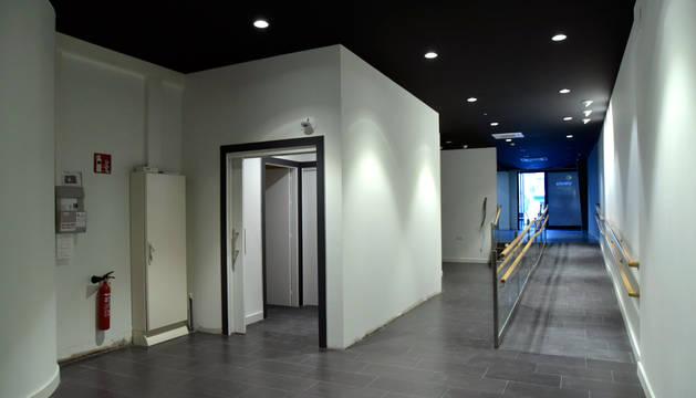Interior del centro 'Ultreia' antes de terminar su adecuación.
