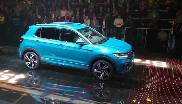 Presentación del Volkswagen  T-Cross