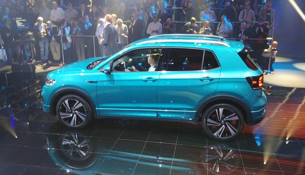 Presentado el T-Cross en Amsterdam, el segundo modelo que se fabricará en Volkswagen Navarra