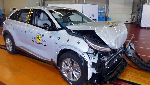 Losmodelos Hyundai Nexo, Lexus ES y Mazda 6 han recibido la máxima puntuación en la última oleada de test de seguridad del Euro NCAP.