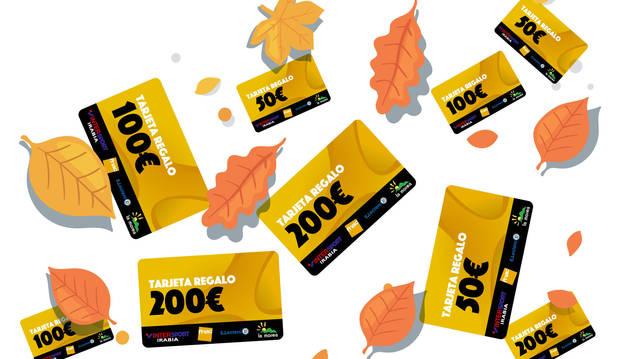 Cada cupón dará una posibilidad de participar en el sorteo de las 200 tarjetas de regalo