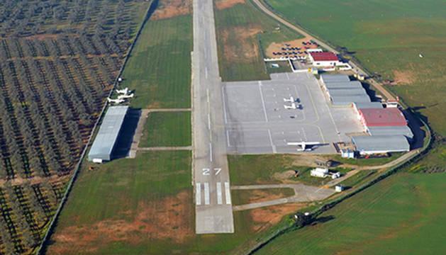 Aeródromo La Juliana, en la localidad sevillana de Bollullos de la Mitación, donde ocurrió el accidente.