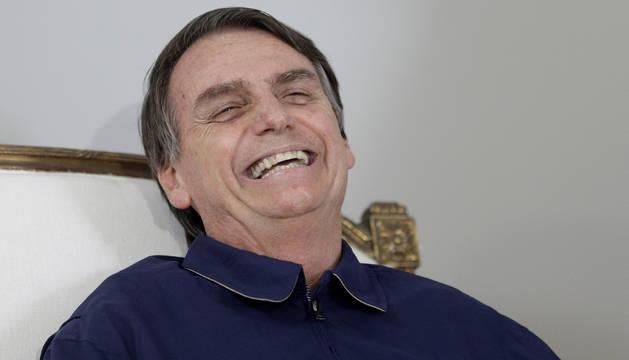 El ultraderechista Bolsonaro