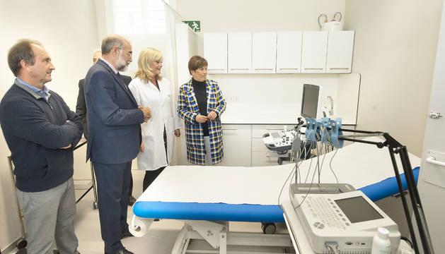 Salud invierte dos millones de euros en el nuevo centro de salud de Aranguren