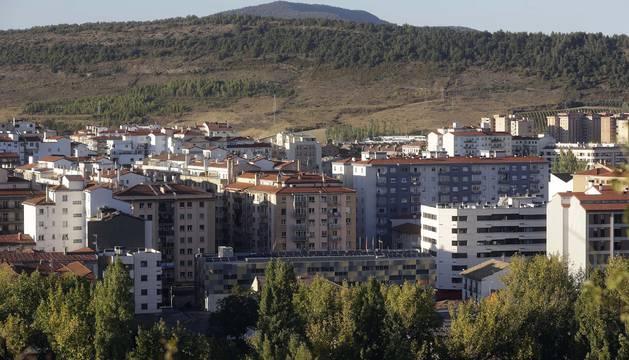 Vista general de la urbanización de Sarriguren.