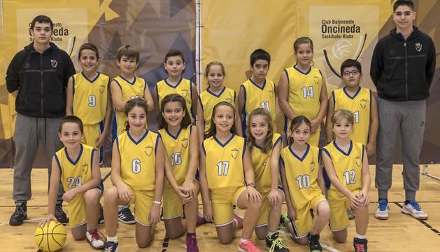 258 jugadores forman parte del CB Oncineda