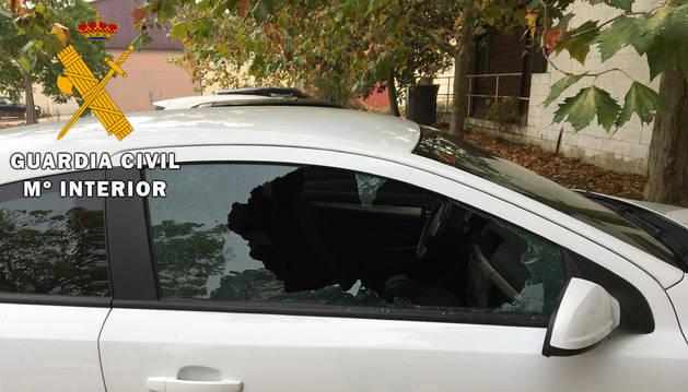 Detenido por varios robos con fuerza en vehículos en la Comarca de Pamplona