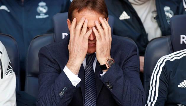 Julen Lopetegui, entrenador del Real Madrid.