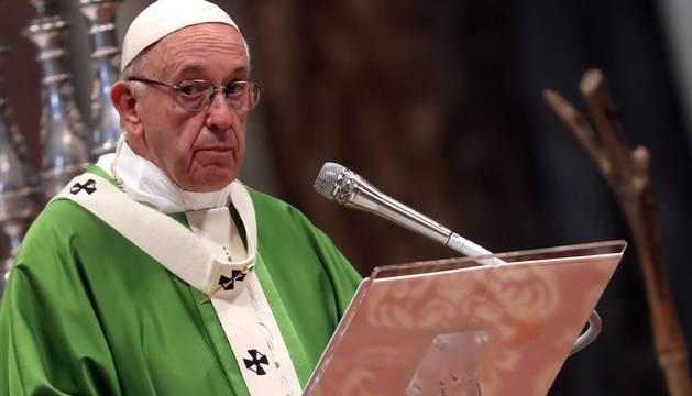 El Papa, en la clausura de la XV Asamblea General del Sínodo de los Obispos.