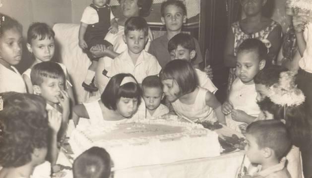 Una celebración de cumpleaños.