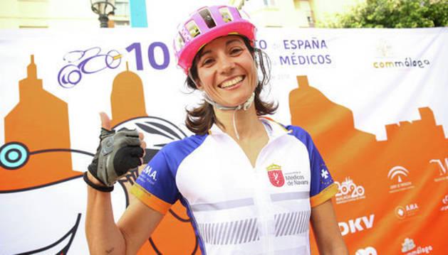 Dos navarras brillan en el Campeonato de España de ciclismo para médicos