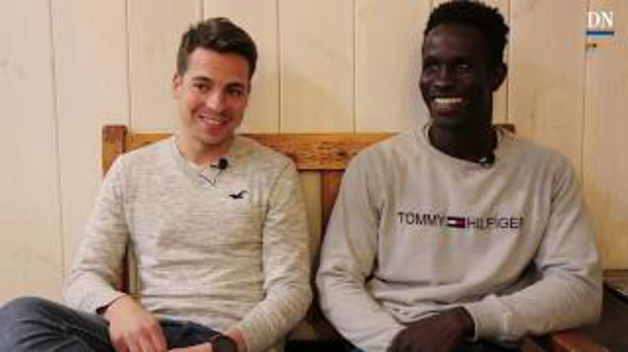 Noel y Moussa: Del gimnasio al trabajo