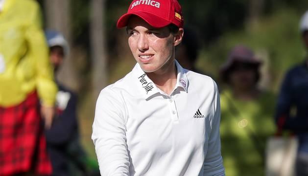 Carlota Ciganda, en el reciente torneo de Taiwán.
