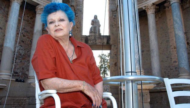Lucía Bosé, en una imagen de 2005.