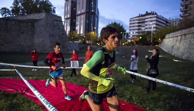 Todas las imágenes de la Carrera de las Murallas, celebrada en Pamplona este sábado, 3 de noviembre
