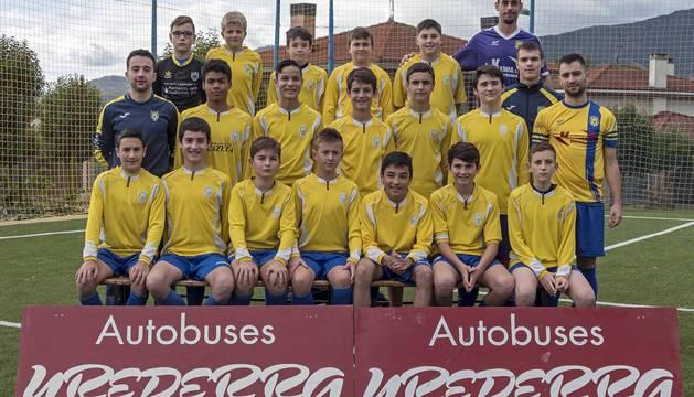 Defienden la camiseta de la entidad de Villatuerta distribuidos en nueve plantillas, cinco en fútbol 11 y cuatro en fútbol 8