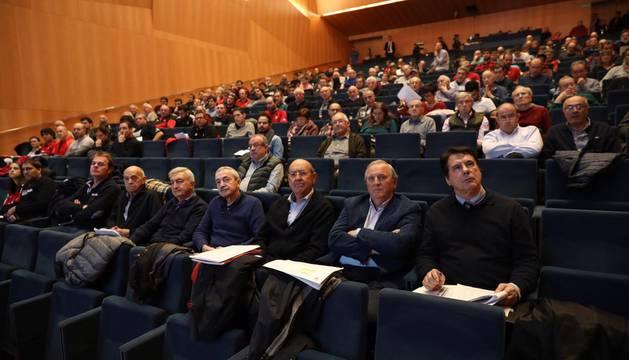 Baluarte acoge este sábado la Asamblea de socios compromisarios de Osasuna