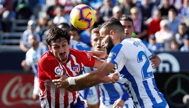 El Atlético de Madrid vuelve a atragantarse en Butarque