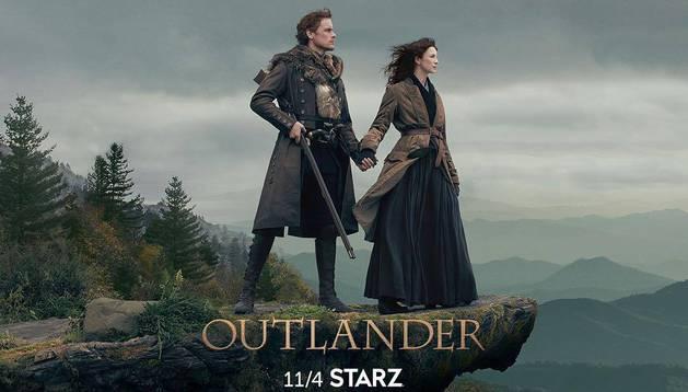 Imagen promocional de la cuarta temporada de 'Outlander'