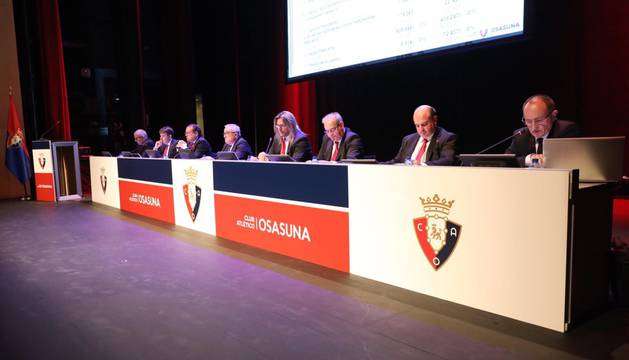 Asamblea General Ordinaria de Osasuna