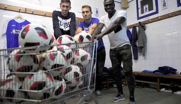Jon Ander Ilincheta, Fermín Úriz y Marcos Mendes son los tres máximos goleadores de la Peña Sport.