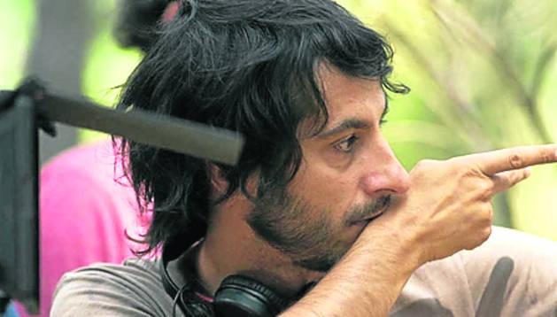El director Marc Vigil, que trabaja en El silencio del pantano.