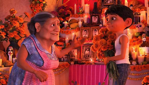 Escena de la película 'Coco'