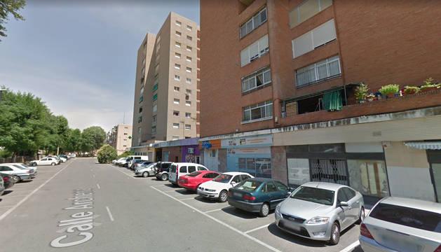 foto de Calle de Guadalajara en la que sucedieron los hechos.