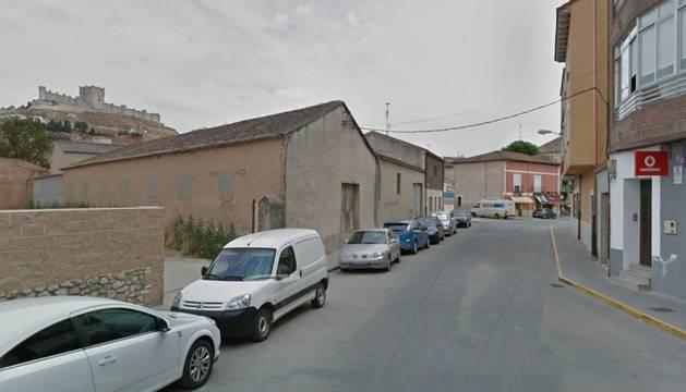Vista de la localidad vallisoletana de Peñafiel.