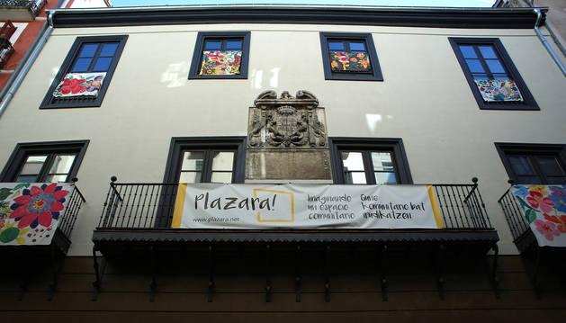Imagen de archivo de Plazara, el espacio creado en Redín y Cruzat.